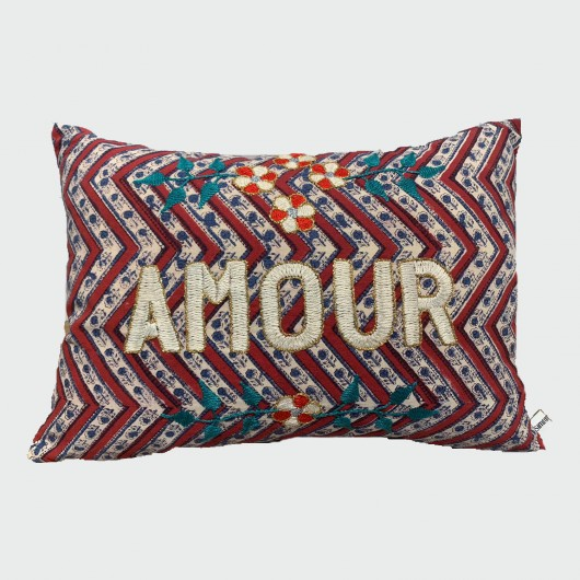 AMOUR Cushion - Chevron