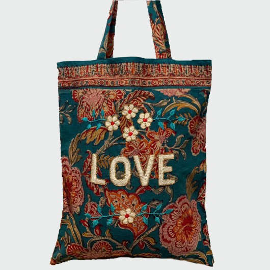 Kerala tote bag - LOVE